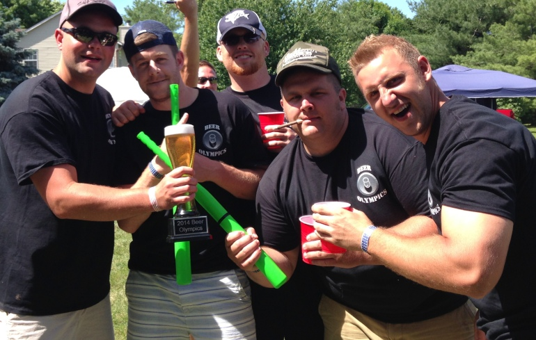 First Place Beer Olympic Champs