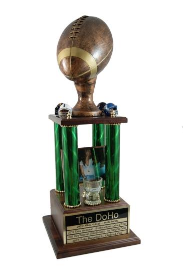custom fantasy football trophy