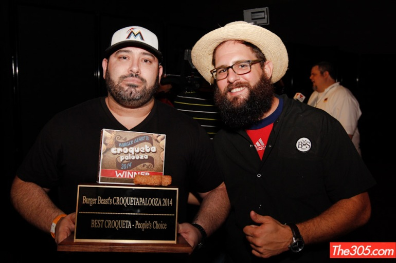 Chef Jorgie Ramos took home the Best Croqueta award, a huge feat!